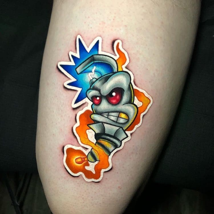 Sticker Tattoos by Luke Cormier