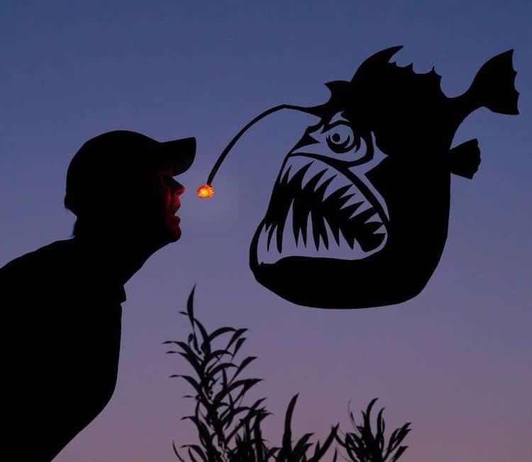 Silhouette Art par John Marshall