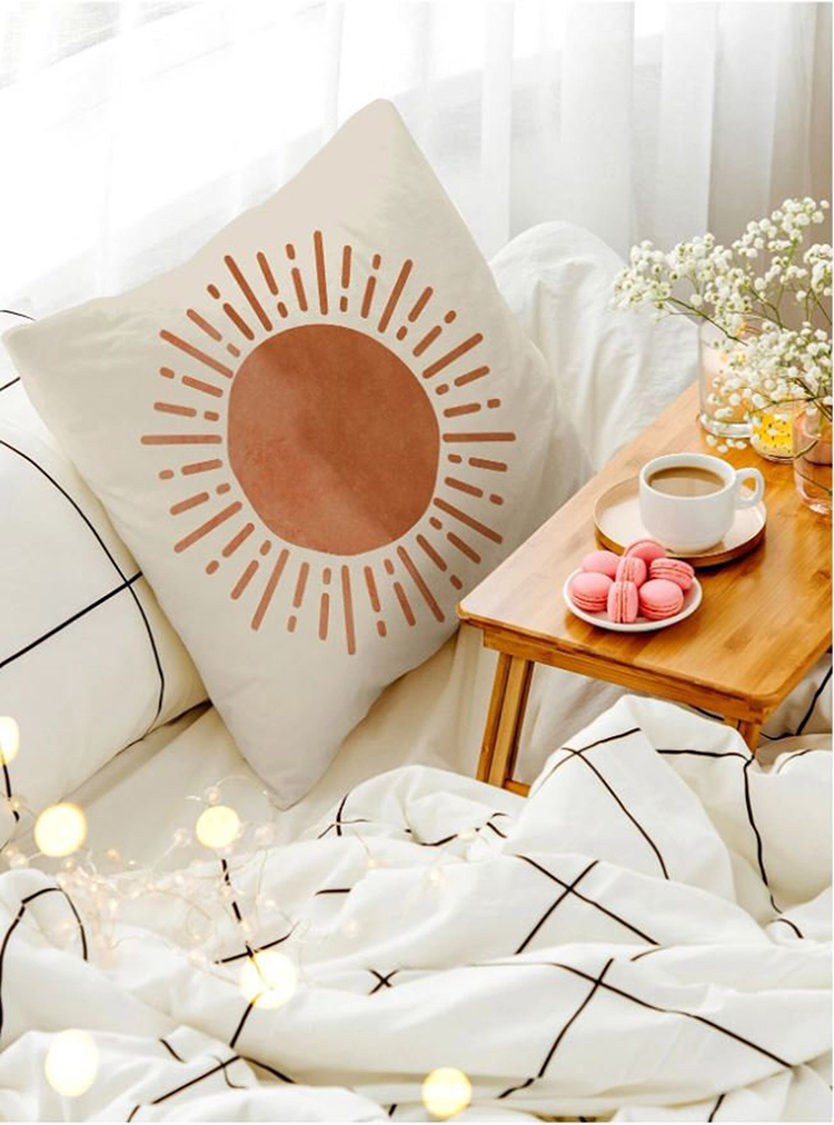Sunshine Nordic Style Pillow Cover