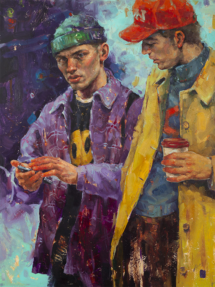 Retratos al óleo de Tania Rivilis