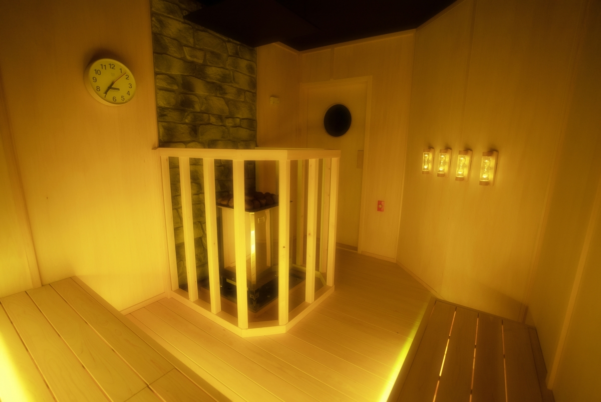 Silent Yellow Sauna