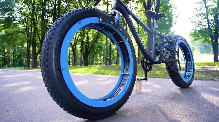 Le vélo sans moyeu The Q