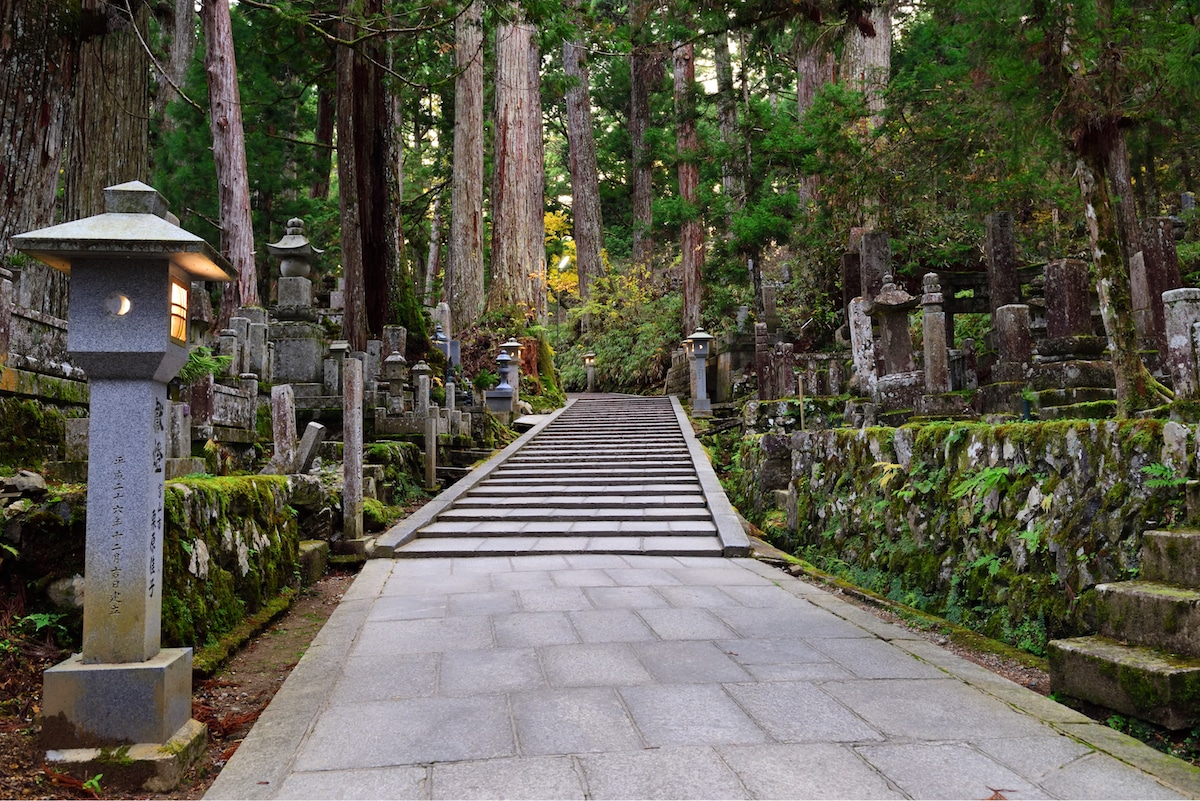 Cemetary in Japan