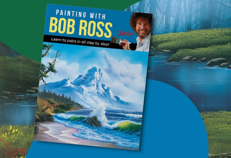 Walter Foster Publishing Bob Ross Painting Book