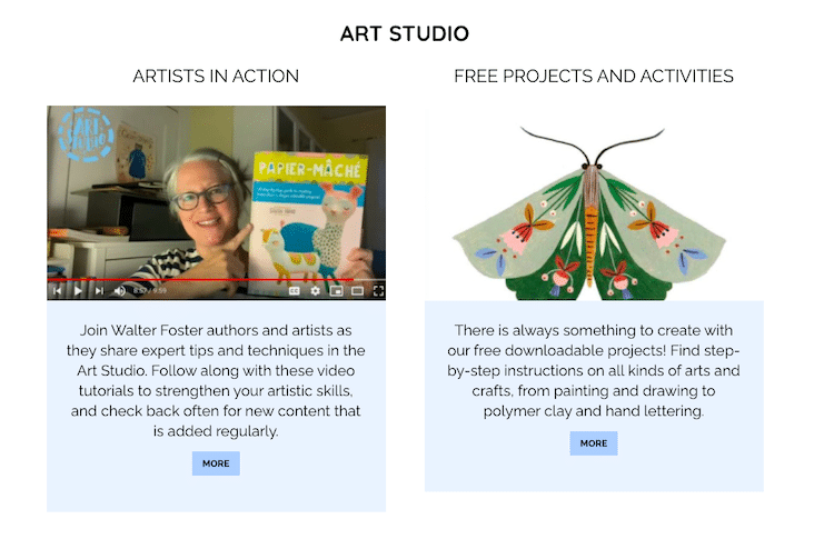 Free Art and Craft Projects Online
