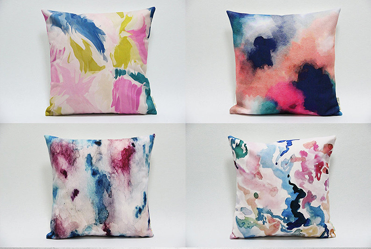 Abstract Watercolor Pillowcases