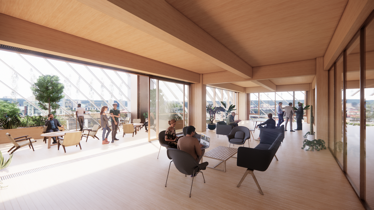 Arbor by Studio Gang for Westbank San Jose Campus