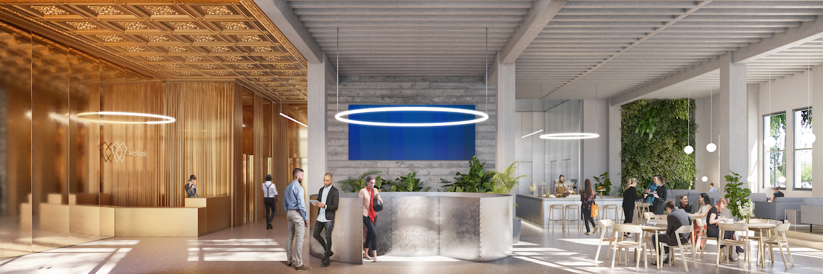 Bank of Italy by Bjarke Ingels Group for Westbank San Jose Campus