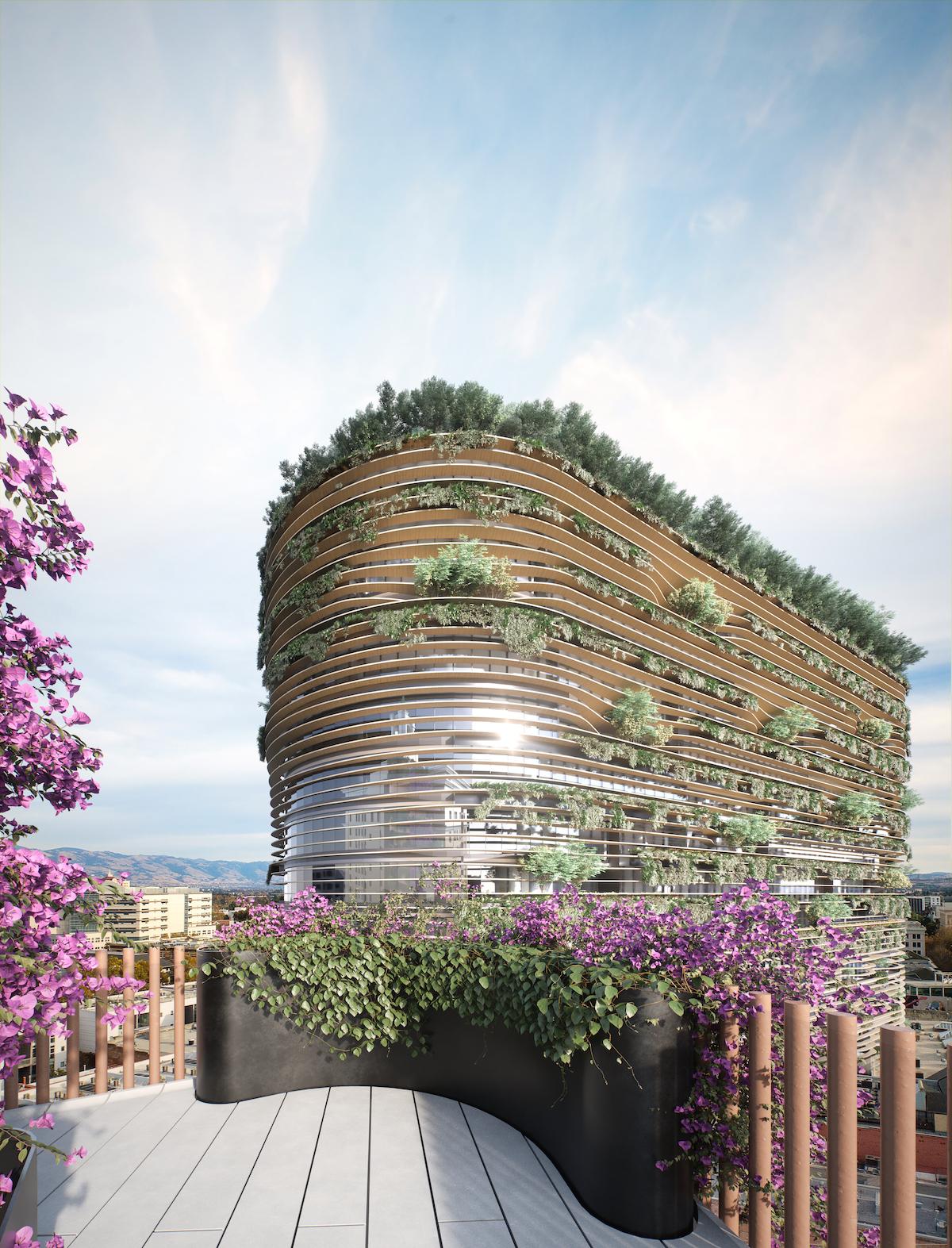 Energy Hub by Bjarke Ingels Group for Westbank San Jose Campus