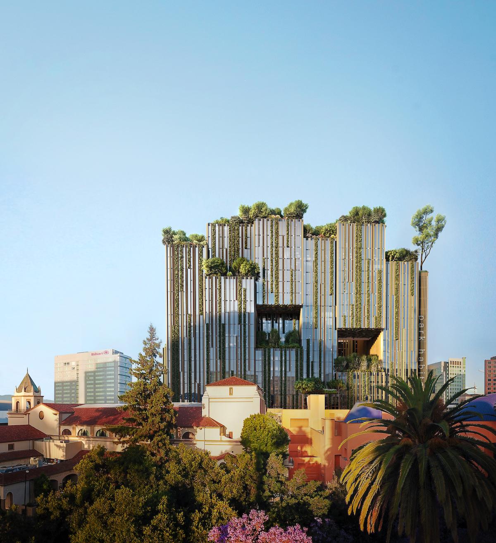 Park Habitat by Kengo Kuma for Westbank San Jose Campus