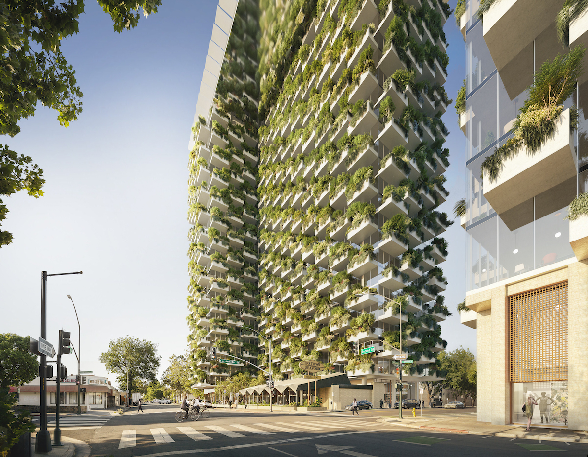 The Orchard Residences by James K.M. Cheng for Westbank San Jose Campus