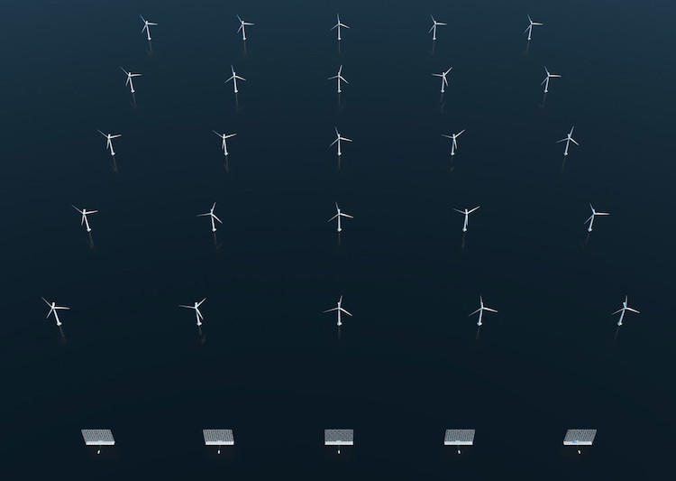 Alternative Energy Wind Farm by Wind Catching Systems