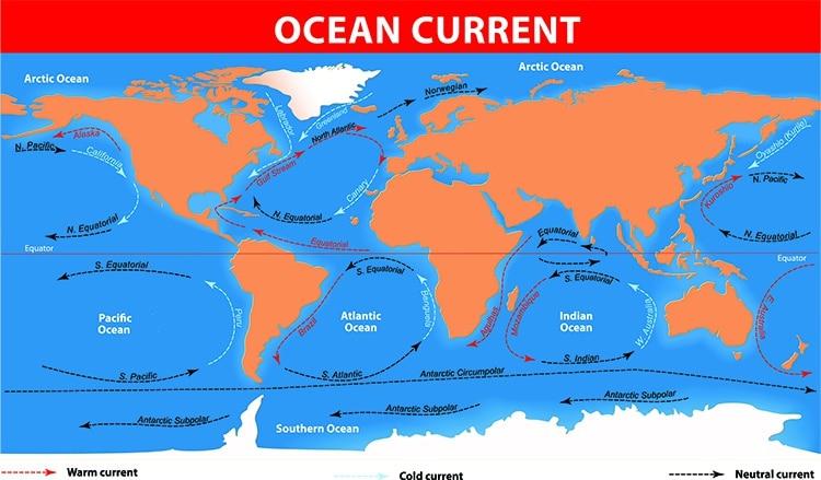 World's Five Oceans