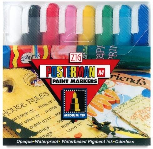 Kuretake Zig Posterman Paint Markers