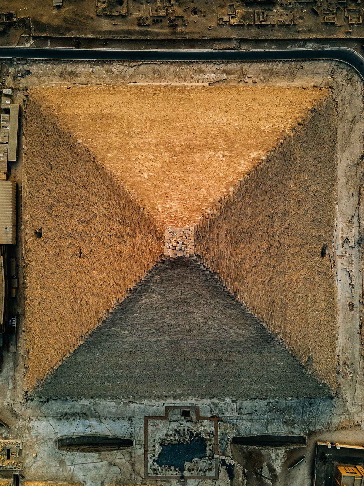 Alexander Ladanivskyy's Drone Images of Pyramids of Giza, Egypt