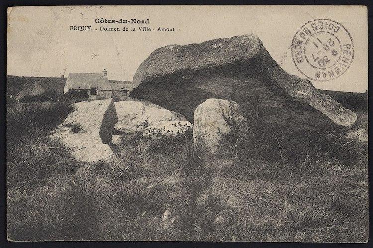 Carte postale des Côtes-d'Armor, Erquy
