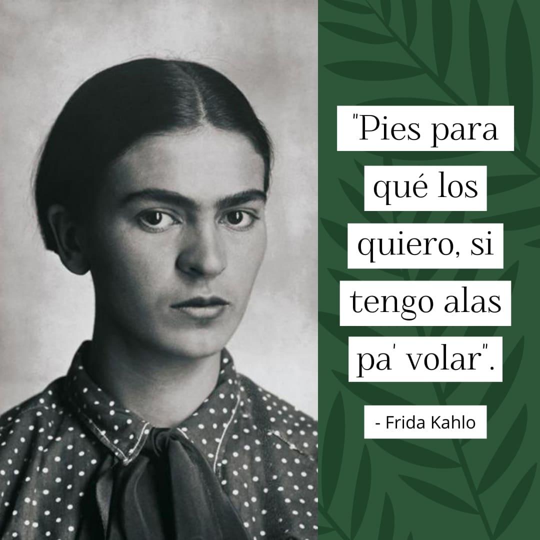 Frase famosa de Frida Kahlo
