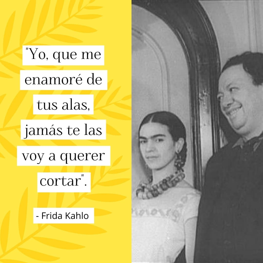 Frase de Frida Kahlo sobre el amor