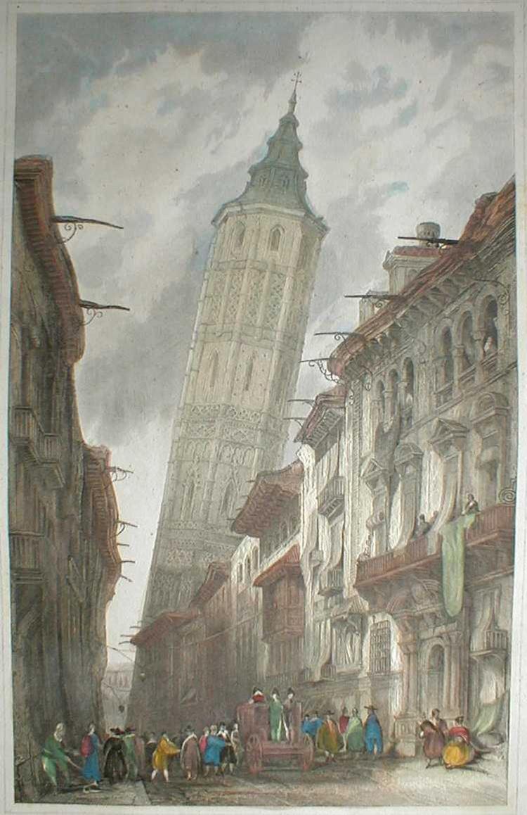 Leaning tower zaragoza