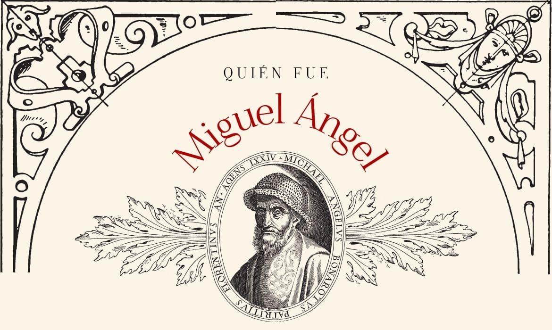Infografía sobre Miguel Ángel
