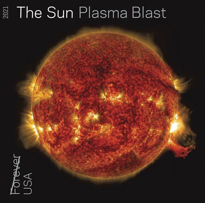 Plasma Blast Sun Stamp
