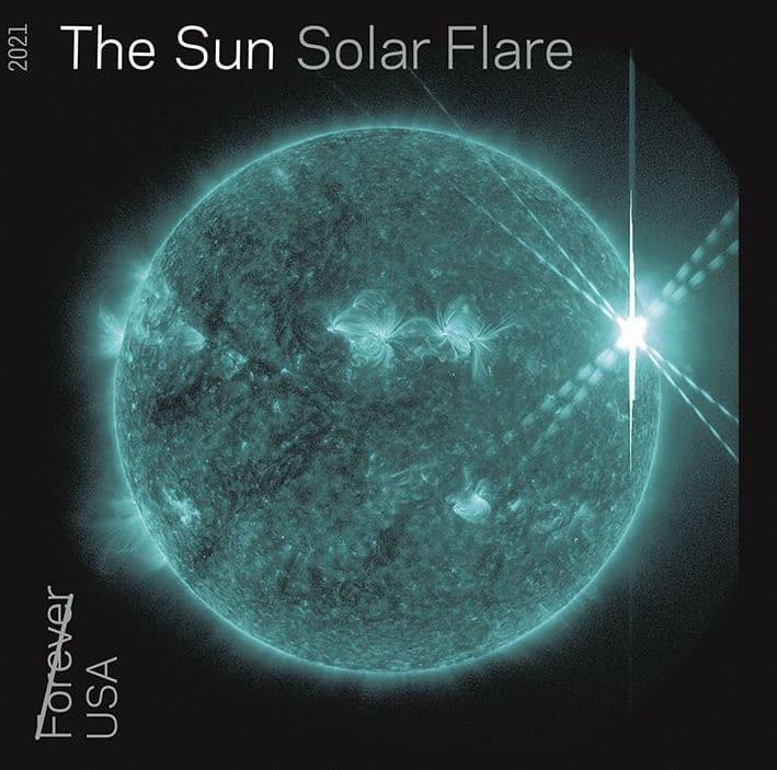 Solar Fire Sun Stamp