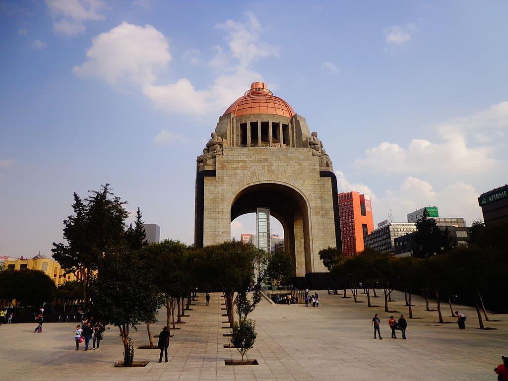 Monumento a la Revolución en la Ciudad de México