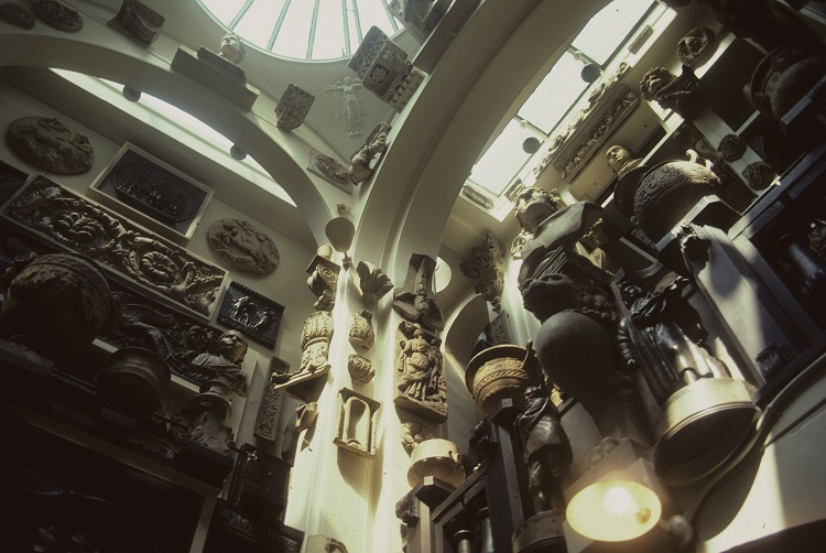 Intérieur du Sir John Soane's museum