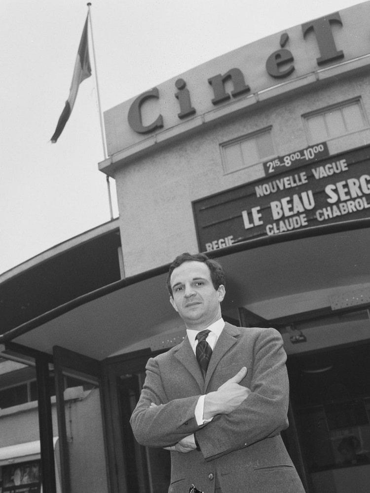 François Truffaut, réalisateur de la Nouvelle Vague Française