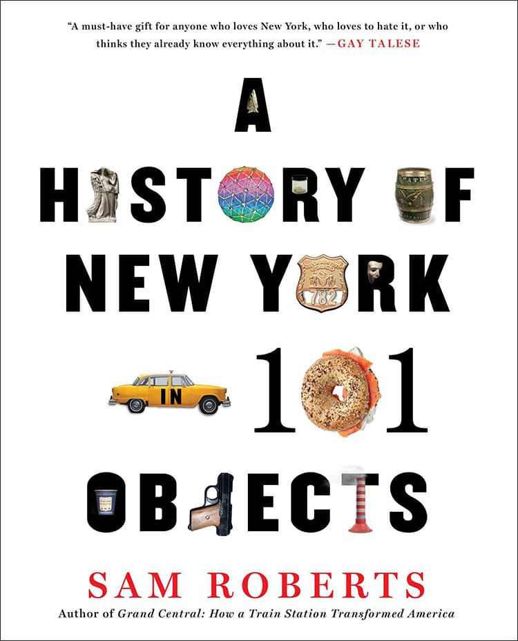 history of nyc in 101 objects