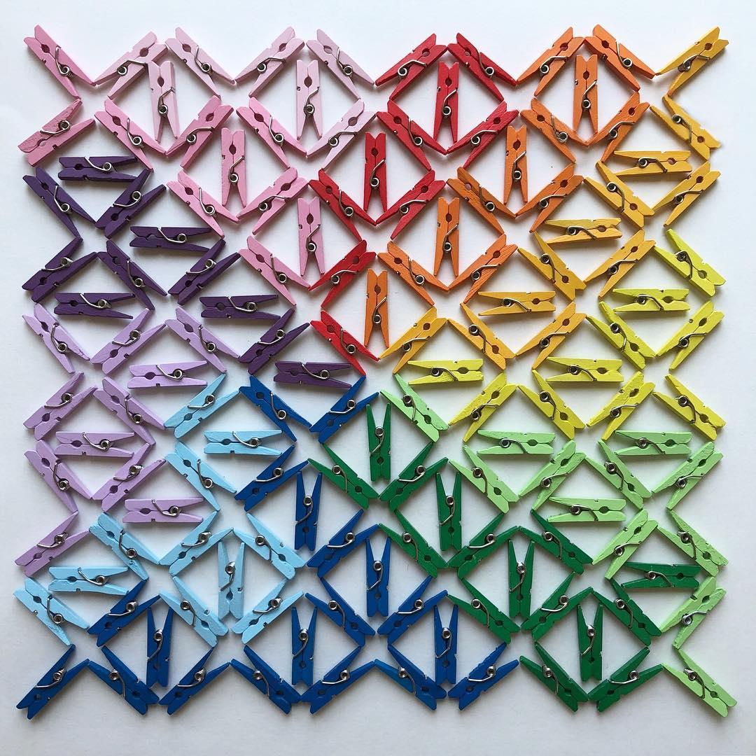 Colorful Arrangements by Adam Hillman