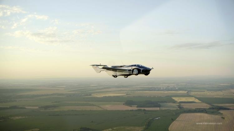 AirCar el auto volador de Klein Vision
