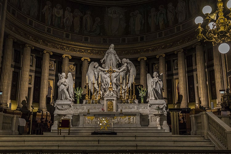 Altar with Mary Magdalene