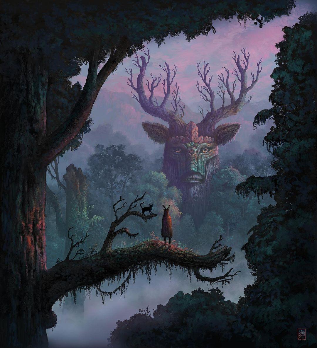 Fantastical Digital Paintings by Andy Kehoe