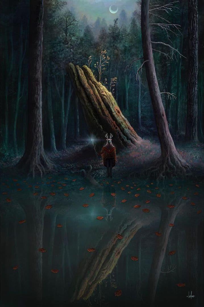 Digital Paintings by Andy Kehoe