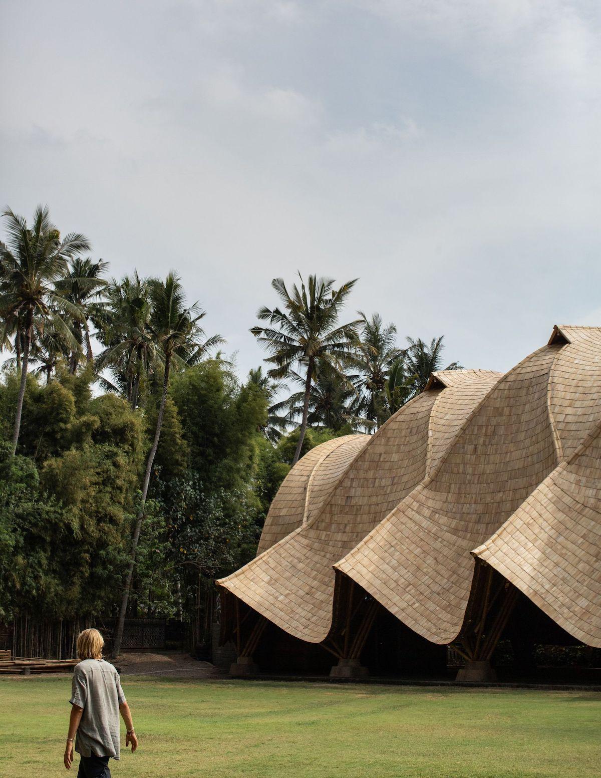 Le projet Arc at Green School à Bali, Indonésie