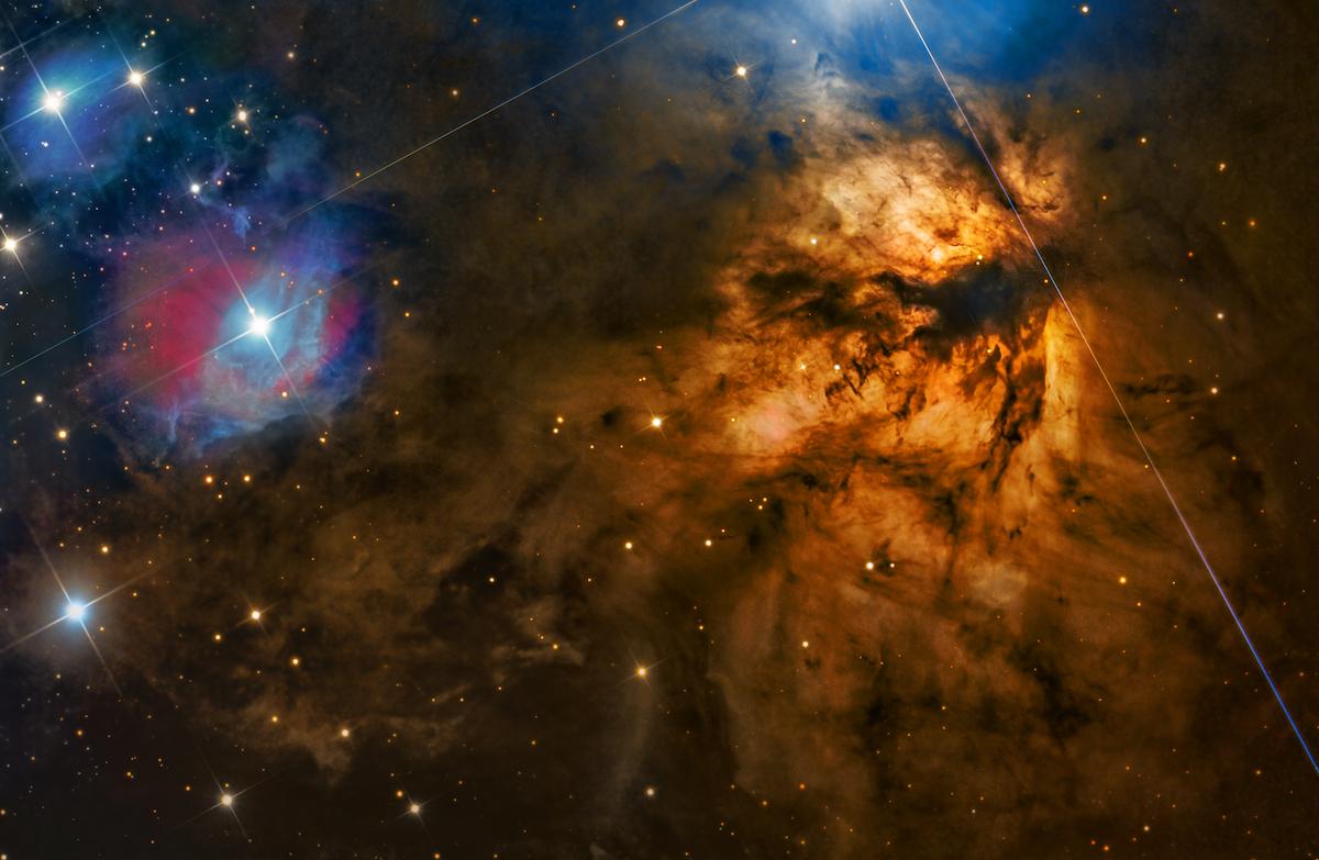 """""""NGC 2024 – Flame Nebula"""" par Steven Mohr (Australie)"""