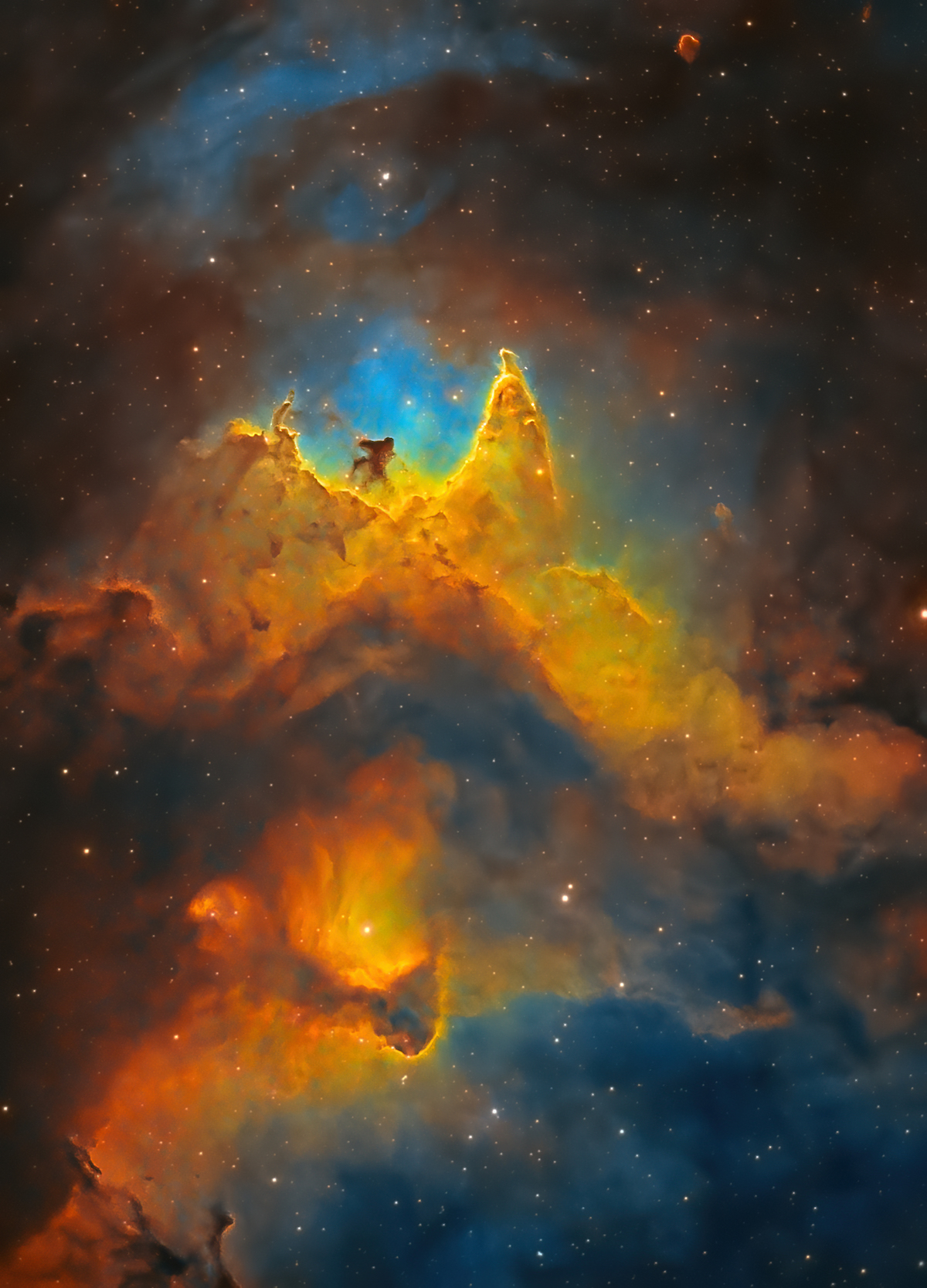 Soul Nebula Shortlist of the Astronomy Photographer of the Year