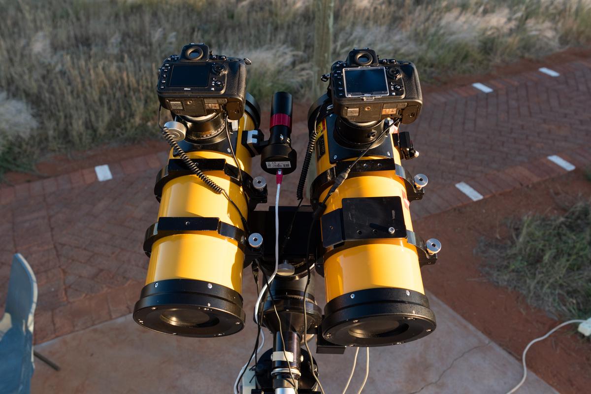 Camera Setup for Astrophotography