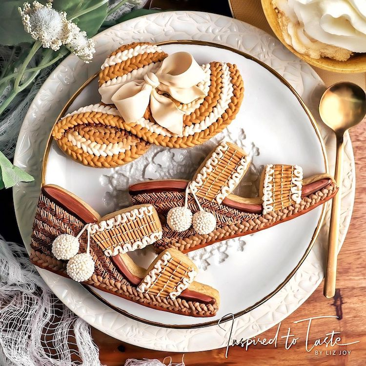 Biscuits décorés par Liz Joy