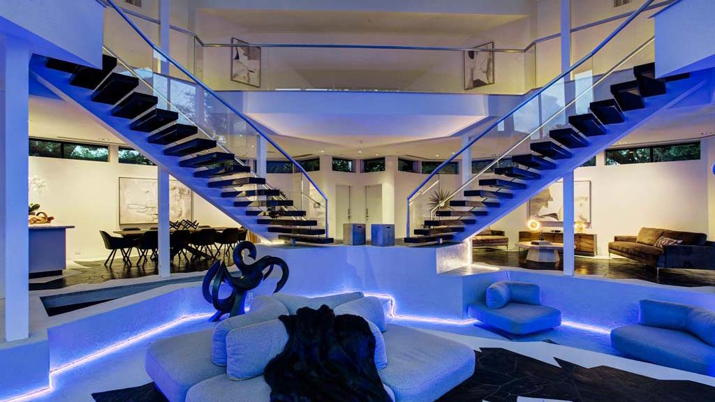 Interior View of the Darth Vader House in Houston, Texas