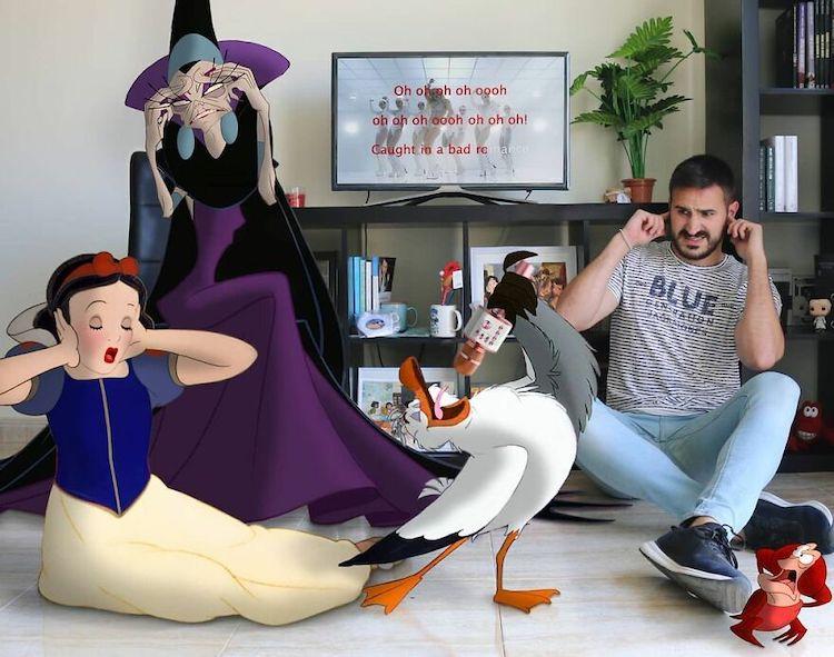 Disney Charcter Digital Art by Samuel MB