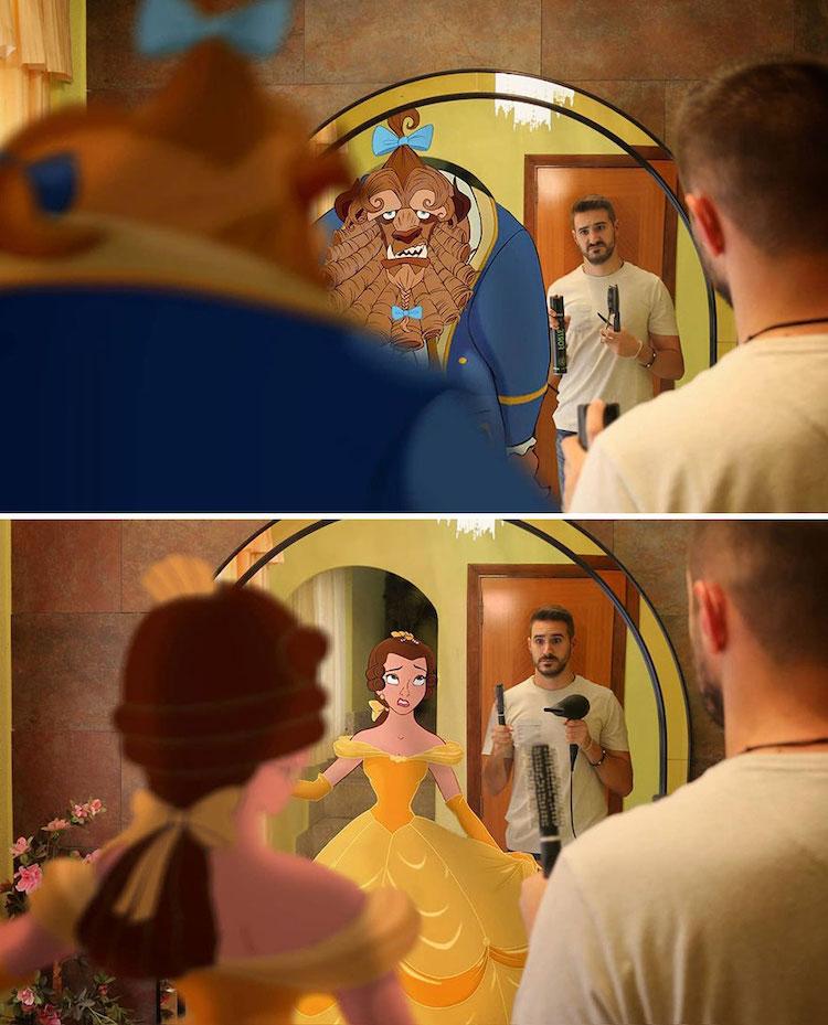 Disney Character Digital Art by Samuel MB