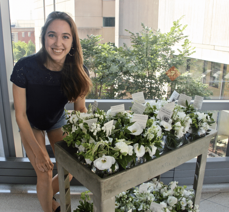 Medical Student Sends Wedding Flowers to Hospital Patients