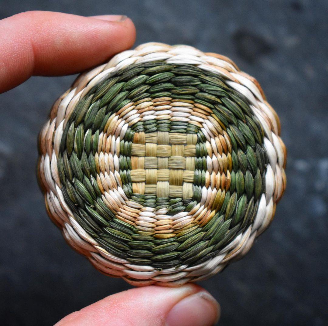 Paniers Tissés par Foraged Fibers