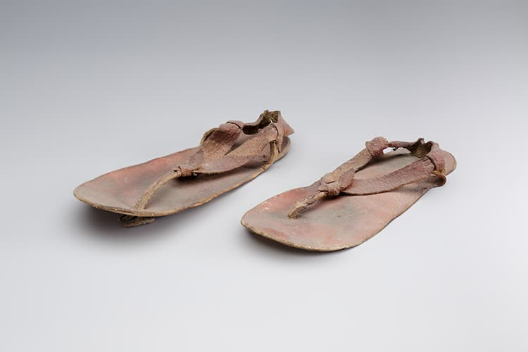 Leather ancient Egyptian sandals