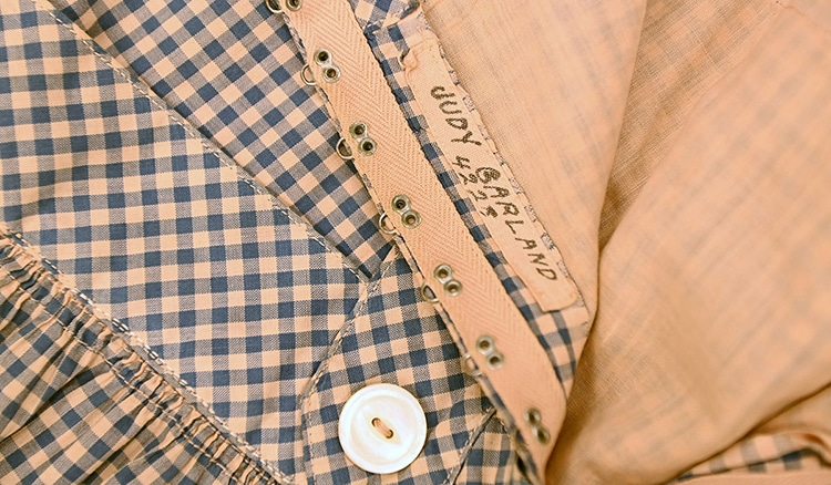 Man Stumbles Upon Judy Garland's Iconic Dorothy Blue-and-White Checked Dress