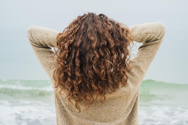Curly Hair Photograph