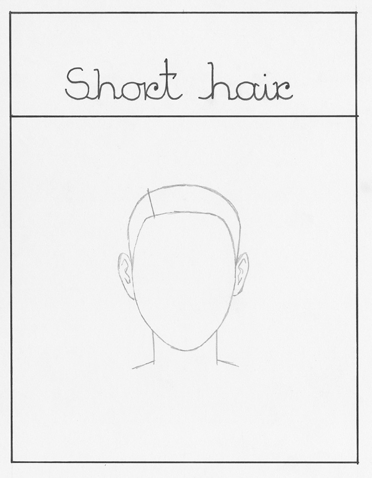How to Draw Short Hair