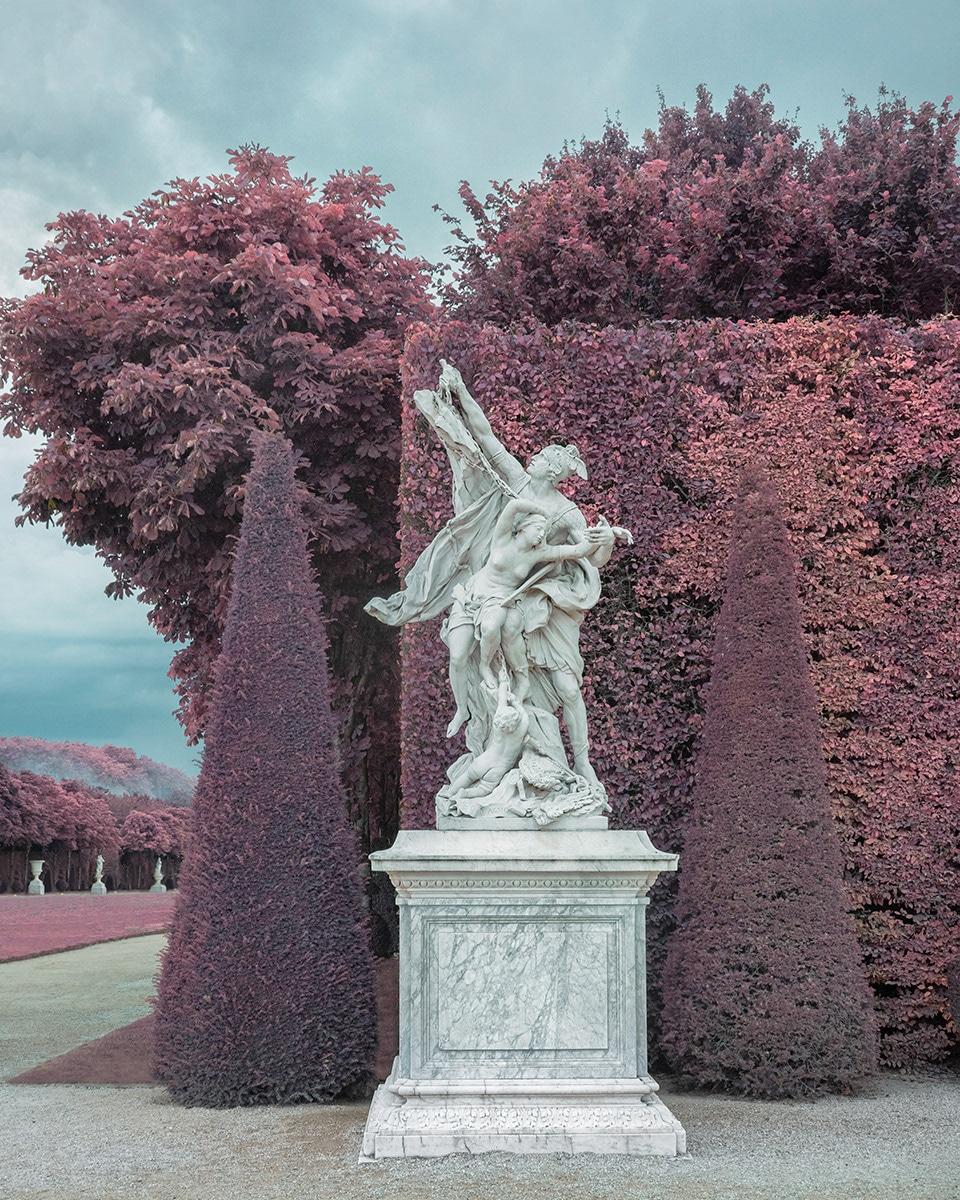 Versaille Sculpture Infra red